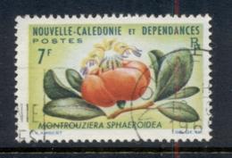New Caledonia 1964-65 Flowers 7f FU - New Caledonia