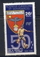 New Caledonia 1978 Soccer League FU - Nuova Caledonia