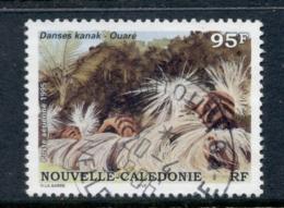 New Caledonia 1995 Kanak Dancers 95f FU - New Caledonia
