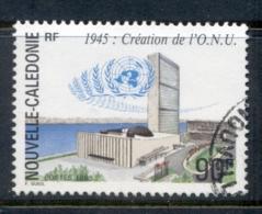 New Caledonia 1995 UN 50th Anniversary FU - New Caledonia