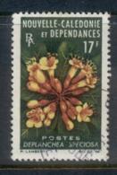 New Caledonia 1964-65 Flowers 17f FU - New Caledonia