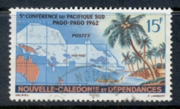 New Caledonia 1962 South Pacific Conference FU - New Caledonia