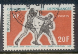 New Caledonia 1969 South Pacific Games, Boxers FU - New Caledonia