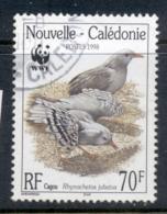 New Caledonia 1998 WWF Kagu, Bird 70f FU - Neukaledonien