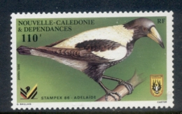 New Caledonia 1986 Stampex, Bird MUH - Nouvelle-Calédonie