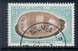 New Caledonia 1970 Shells 21f FU - New Caledonia