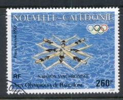 New Caledonia 1992 Summer Olympics Barcelona Swimming FU - New Caledonia