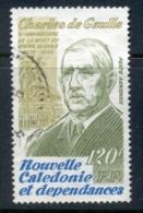 New Caledonia 1980 Charles De Gaulle FU - New Caledonia