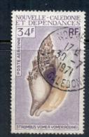 New Caledonia 1970 Shells 33f FU - New Caledonia