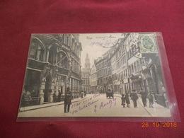 Carte Postale Ancienne De Riga De 1909 Avec Timbre Russe - 1857-1916 Empire