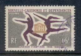 New Caledonia 1966 UNESCO 25th Anniv. FU - New Caledonia