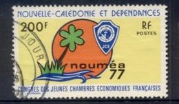 New Caledonia 1977 Junior Economic Congress FU - New Caledonia