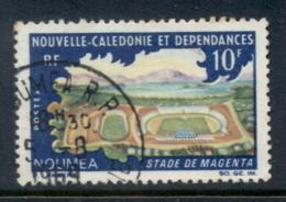 New Caledonia 1967 Magenta Stadium FU - New Caledonia