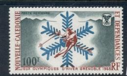 New Caledonia 1967 Winter Olympics Grenoble MUH - New Caledonia