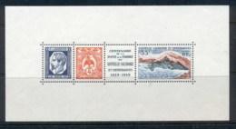New Caledonia 1960 Centenary Of Postal Service MS MUH - New Caledonia