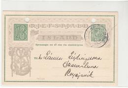 Iceland / Stationery / Postmarks - Islanda