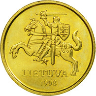 Monnaie, Lithuania, 10 Centu, 1998, SPL, Nickel-brass, KM:106 - Lituanie