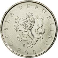 Monnaie, République Tchèque, Koruna, 2001, SPL, Nickel Plated Steel, KM:7 - Tchéquie