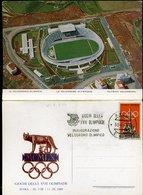 WC808 ROMA - IL VELODROMO OLIMPICO CON ANNULLO INAUGURAZIONE - Stadi & Strutture Sportive