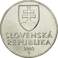 Monnaie, Slovaquie, 2 Koruna, 2003, TTB+, Nickel Plated Steel, KM:13 - Slovaquie