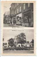 NIVELLES - Rue De Namur Et Gare De L'Est (station SNCB) - Nivelles