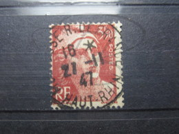 """VEND BEAU TIMBRE DE FRANCE N° 716B , CACHET """" MULHOUSE - R. DE FRANCE """" !!! - 1945-54 Marianne Of Gandon"""