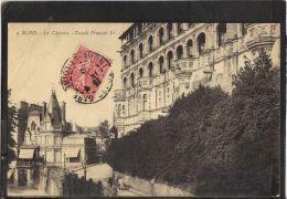 4193 .   BLOIS . LE CHATEAU . FACADE FRANCOIS 1er .  (recto Verso)    ANNEE 1905 - Blois
