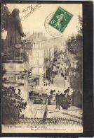 4198 .  BLOIS . LA RUE DENIS  PAPIN . VUE PRISE DE L ESCALIER MONUMENTAL . LL .  (recto Verso)   ANNEE 1914 . ANIMEE - Blois