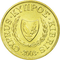 Monnaie, Chypre, Cent, 2003, SUP, Nickel-brass, KM:53.3 - Chypre