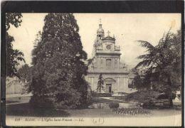 41109 . BLOIS . L EGLISE SAINT VINCENT . LL .  (recto/verso) - Blois