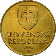 Monnaie, Slovaquie, 10 Koruna, 1995, SPL, Aluminum-Bronze, KM:11 - Slovaquie