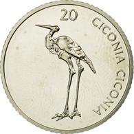 Monnaie, Slovénie, 20 Tolarjev, 2005, Kremnica, SPL, Copper-nickel, KM:51 - Slovénie