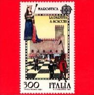 Nuovo - MNH - ITALIA - 1981 - Europa - 26ª Emissione - Partita A Scacchi Di Marostica - 300 L. - 6. 1946-.. Repubblica