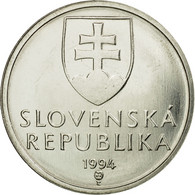 Monnaie, Slovaquie, 5 Koruna, 1994, SPL, Nickel Plated Steel, KM:14 - Slovaquie