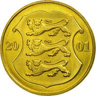 Monnaie, Estonia, Kroon, 2001, No Mint, SUP, Aluminum-Bronze, KM:35 - Estonie