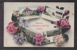 CPA 68 - LEBERAU LIEPVRE - Souvenir De... - TB CP Multivue Dont Vue Générale , Centre Village , Etc... - Lièpvre