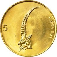 Monnaie, Slovénie, 5 Tolarjev, 2000, SPL, Nickel-brass, KM:6 - Slovénie