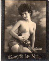 TABAC 8 : Cigarettes Le Nil : Yvonna Seins Nues ( Nu Nue ) - Tabac (objets Liés)