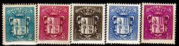 Andorra-071 - Emissione 1937 - Senza Difetti Occulti. - Andorra Francese