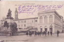 CPA - 2004.  CAHORS - Monument Gambetta, La Bibliothèque - Cahors