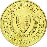 Monnaie, Chypre, 2 Cents, 2003, SPL, Nickel-brass, KM:54.3 - Chypre