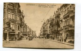 CPA  Belgique  : OSTENDE  Bd Van Iseghem Animé   A  VOIR  !!!! - Oostende