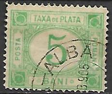 ROUMANIE      -    Timbre - Taxe    -   1898.    Y&T N° 22 Oblitéré - Port Dû (Taxe)
