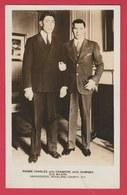 Boxeur Belge Pierre Charles Et Champion Américain Jack Dempsey - Photo 20 Cm /12, Cm ( Voir Verso ) - Boxe