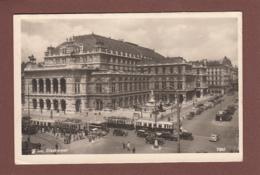 Österreich - WIEN - Staatsoper - Tram - Oldtimer - Wien