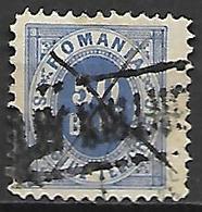 ROUMANIE      -    Timbre - Télégraphe    -   1871.    Y&T N° 2 Oblitéré - Telegraph
