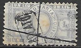ROUMANIE      -    Timbre - Télégraphe    -   1871.    Y&T N° 3 Oblitéré - Telegraph