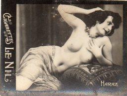TABAC 5 : Cigarettes Le Nil : Haraz Seins Nues ( Nue Nu ) - Tabac (objets Liés)