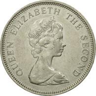 Monnaie, Jersey, Elizabeth II, 10 New Pence, 1975, TTB, Copper-nickel, KM:33 - Jersey