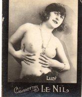 TABAC 3 : Cigarettes Le Nil : Luzi Seins Nues ( Nue Nu ) - Tabac (objets Liés)